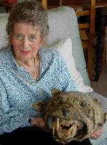 Germaine � 80 ans